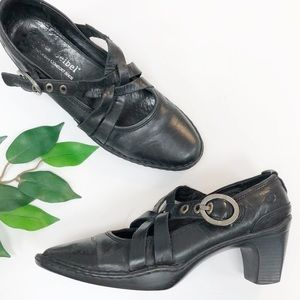 JOSEF SEIBEL | Black Leather Mary Janes
